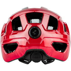 Cube Steep Helmet glossy red